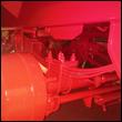 24 ton suspension with parabolic tandem springs