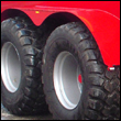 Recessed chassis with mudguards