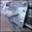Polypropylene slide plates