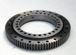 Powerful direct drive slewing ring